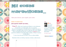 milcosasmaravillosas.blogspot.com