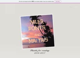 milespointsandmaitais.com
