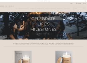 milestone-candles.myshopify.com