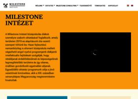 milestone-institute.org