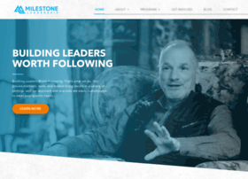milestoneleadership.com
