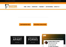 milestoneorthodontics.com