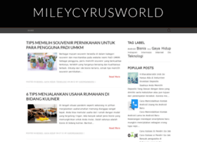 mileycyrusworld.org