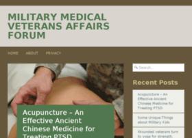 military-medical-veterans-affairs-forum.com
