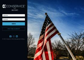 military.conservice.com