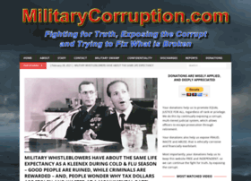 militarycorruption.com