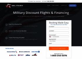 militaryflighttravel.com