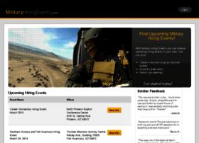 militaryhiringevents.com