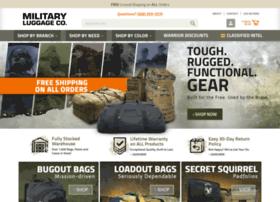 militaryluggage.com