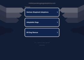 militaryworkingdogadoptions.com