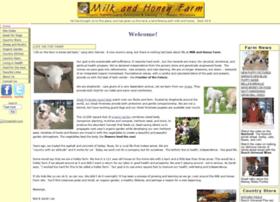 milkandhoneyfarm.com
