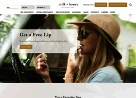 milkandhoneyspa.com