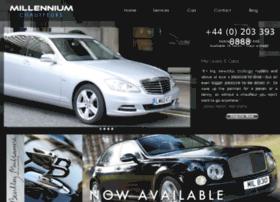 millennium-chauffeurs.com