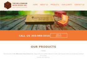 millenniumwoodboxes.com