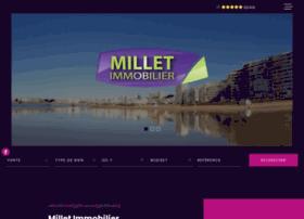 millet-immobilier.com