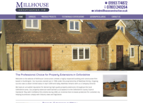 millhouseconstruction.co.uk