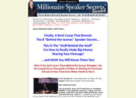 millionairespeakersecrets.com