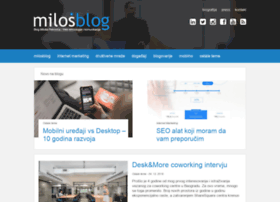 milosblog.com