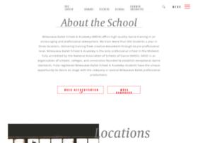 milwaukeeballetschool.org