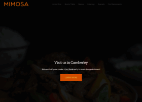 mimosarestaurants.com