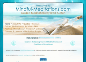 mindful-meditations.com