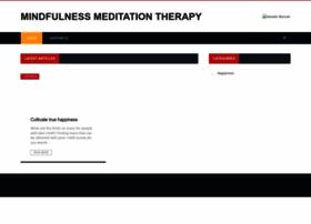 mindfulnessmeditationtherapy.com