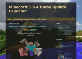 minecraft-horseupdate-launcher.blogspot.com