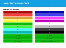 minecraftcolorcodes.com