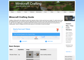 minecraftcrafting.info
