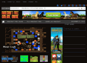 minecraftfreeonlinegame.org