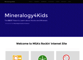 mineralogy4kids.org