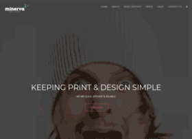 minervaprint.com