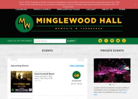 minglewoodhall.com