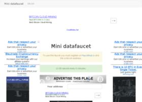 mini.datafaucet.info