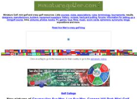 miniaturegolfer.com