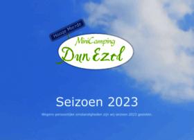 minicampingdunezel.nl