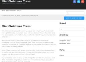 minichristmastrees.net