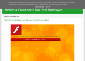 miniclip8ballpoolmultiplayer.blogspot.co.uk