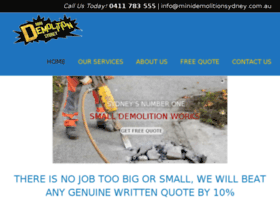 minidemolitionsydney.com.au