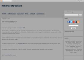 minimalexposition.blogspot.fr