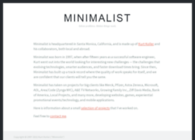 minimalist.com
