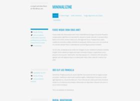 minimalizinedemo.wordpress.com