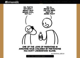 minimumble.thebookofbiff.com