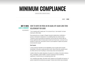 minimumcompliance.wordpress.com