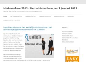 minimumloon2013.nl