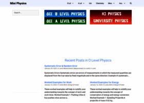miniphysics.com