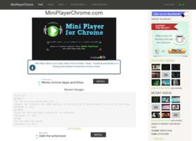 miniplayerchrome.com