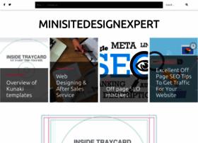 minisitedesignexpert.com