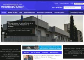 ministeredubudget.cd
