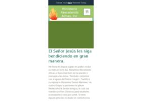 ministeriorescatandoalmas.com